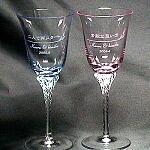 結婚祝い・誕生日プレゼントにペアワイングラス